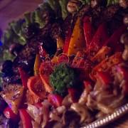 Фан-кейтеринг с овощами гриль