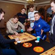 Организация турнира по настольной игре нарды