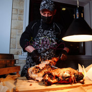 Подача блюд на гриле