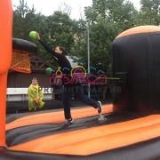 Необычный баскетбол с банджи верёвкой на праздник