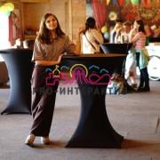 Коктейльные столы в аренду