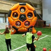 Гигантский футбольный тир