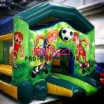 Детская радость: футбольный батут...