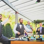 Настольный свадебный футбол