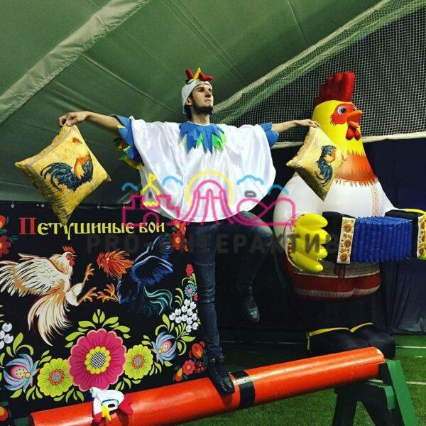 Петушиные бои в костюмах