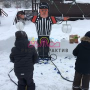 Бум-машина хоккейная на праздник