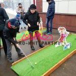 Тематический гольф в русском стиле