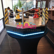 Аренда аттракциона Битва роботов (Живая сталь) на вечеринку