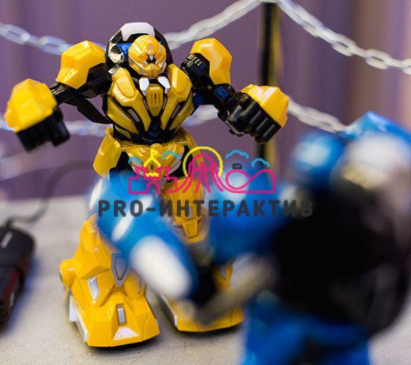 Аренда аттракциона Битва роботов (Живая сталь) на развлекательное мероприятие