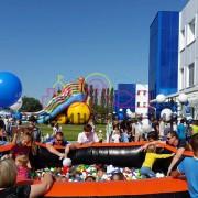 прыжковый сухой бассейн в аренду на детский праздник