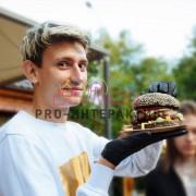 Кейтеринг с бургерами