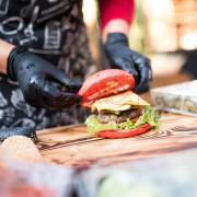 Кейтеринг с гамбургерами