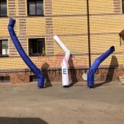 Трубы танцоры на улице