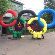 Олимпийские игры - олимпийские кольца