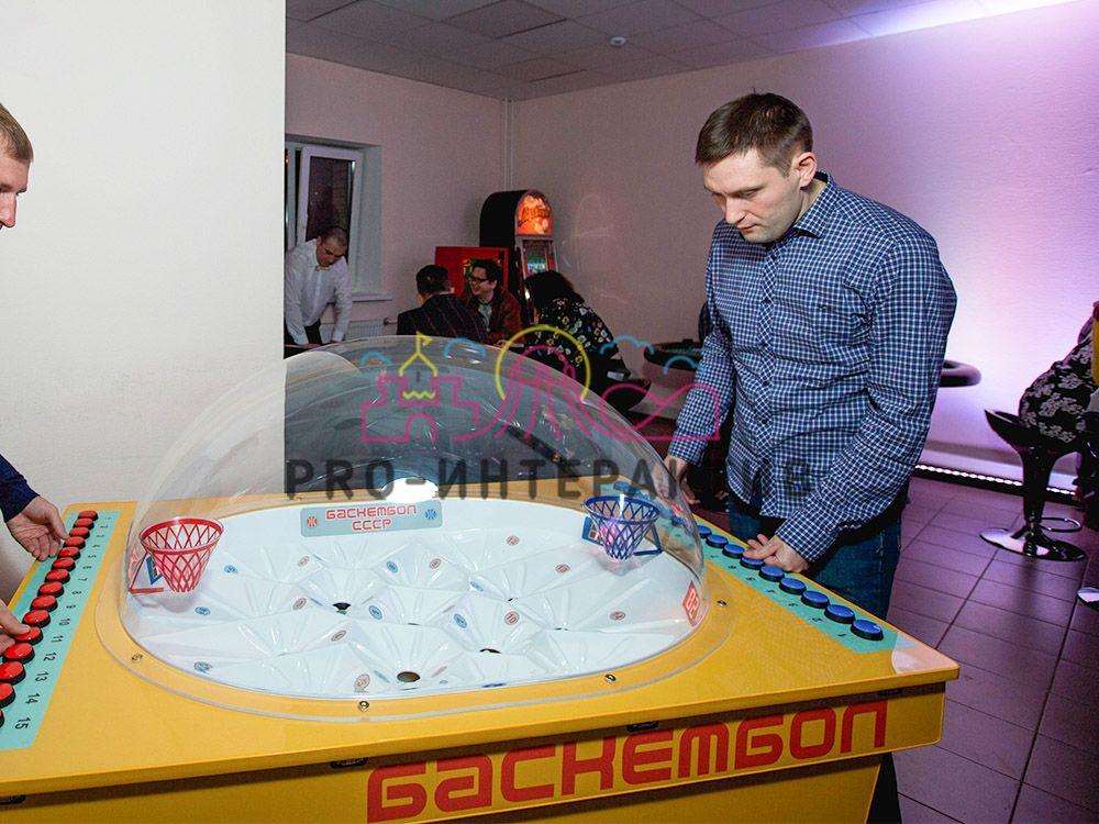 Аренда игровых аппаратов СССР