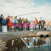 Задание для тимбилдинга Командная рыбалка на мероприятие