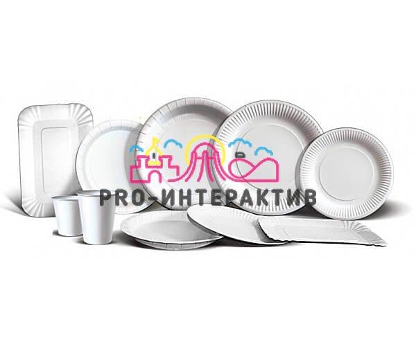 картонная посуда