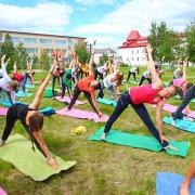 Аренда Коврика гимнастического для занятий по йоге