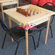 Шахматы парковые для интеллектуальных игр на мероприятии