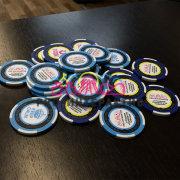 Изготовление брендированных фишек для казино корпоратива