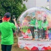 Взять чудо-шар в аренду на праздник 8е марта