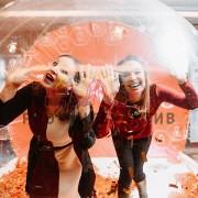 Фотозона чудо шар на корпоративную вечеринку