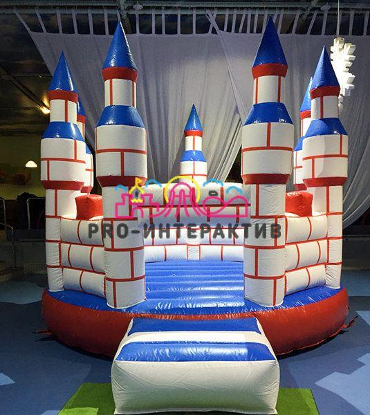 Детский батут Замок Принцессы в прокат на детский праздник