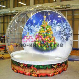 Чудо-шар новогодняя фотозона