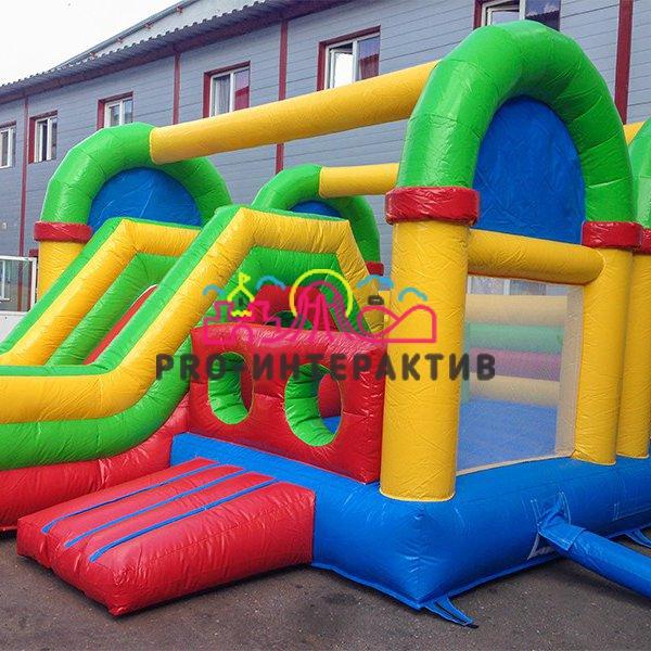 Игровой комплекс батут «Детские Горки» напрокат на праздник