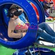 Аттракцион виртуальная реальность VR Шаттл в аренду на промо акцию