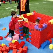 Гигантское Лего напрокат на детский праздник