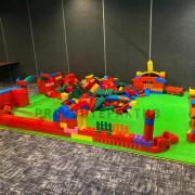 Огромное лего на мероприятие для детей