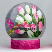 Заказать фотозону Чудо-Шар на 8 марта отличный способ красиво поздравить женщин