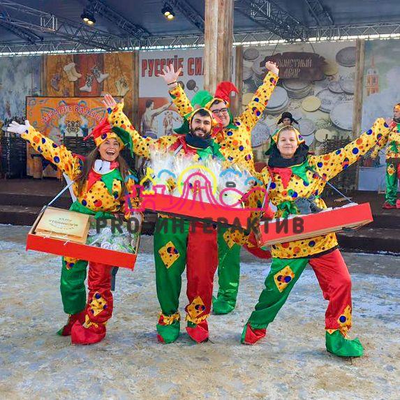 Заказать Коробейника для раздачи угощений на празднике в русском стиле