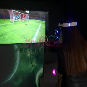 Виртуальный футбол на праздник