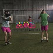 VR футбол на футбольный праздник