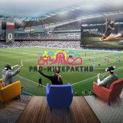 Аттракцион Футбол VR виртуальная реальность мультиплеер
