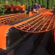Прокат надувных полос препятствий