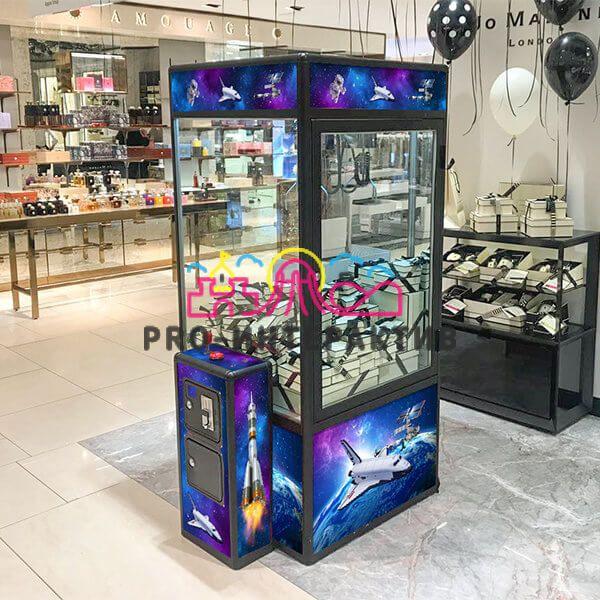 Автомат с игрушками Космический (Кран машина)