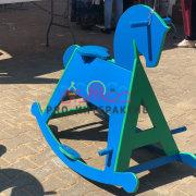 Лошадь-качалка в аренду на детский праздник