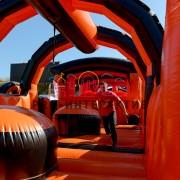 Чёрно оранжевый поезд в аренду