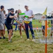 Организация диск-гольфа на празднике