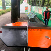 Теннис для 4х человек