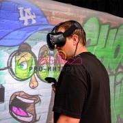 Виртуальное VR граффити в аренду на праздник