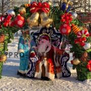 Новогоднее кресло деда мороза напрокат