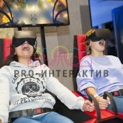 Организация двухместного VR аттракциона