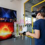 Музыкальный аттракцион с очками виртуальной реальности