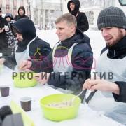 Фан кейтеринг с пельменями в стиле СССР