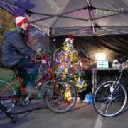 Велоёлка - новогодний аттракцион