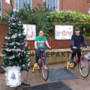Велоёлка на новый год 3